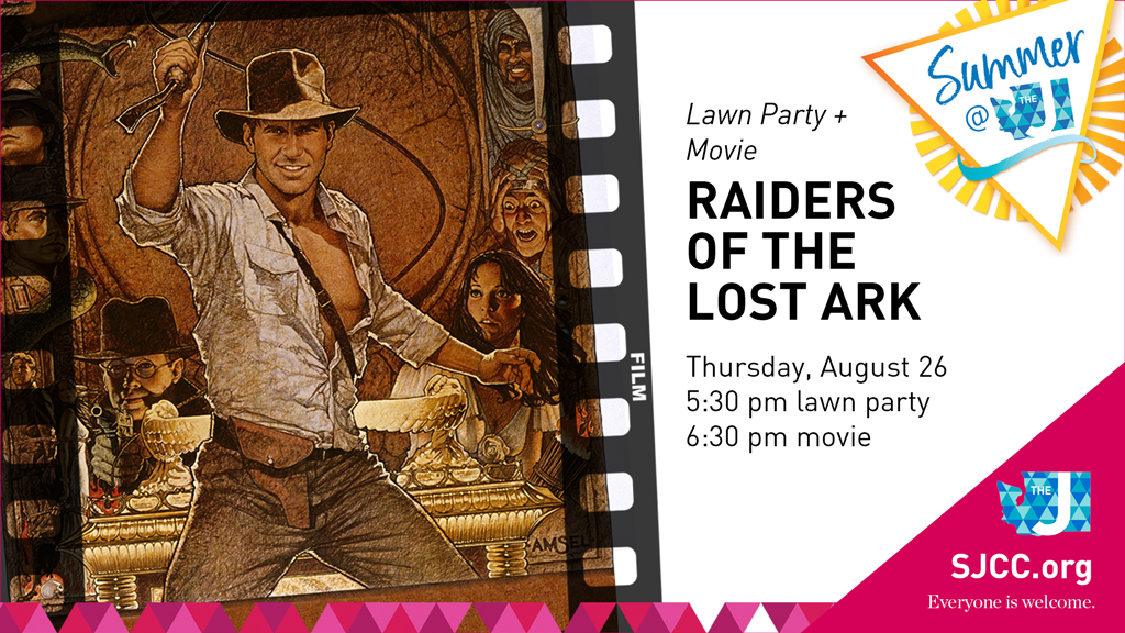 Movie + Lawn Party: Raiders of the Lost Ark