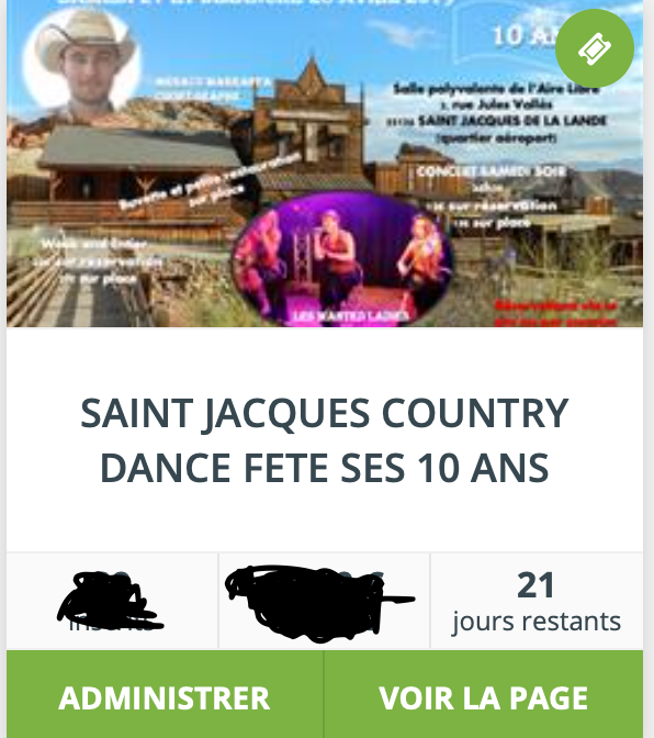 J-21 pour un grand événement en Bretagne pour les 10 ans de SAINT JACQUES COUNTRY DANCE