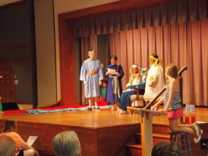The Drama Guild presents their play about Moses, Pharaoh, and the Plagues during The Adventures of Moses VBS 2015.
