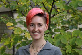 Maren Fichter, Inspire Project Support Officer
