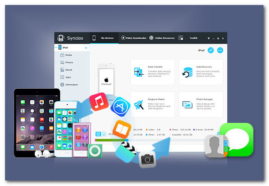 SynciOS Professional 6.3.3 Crack With Serial Key Free Download