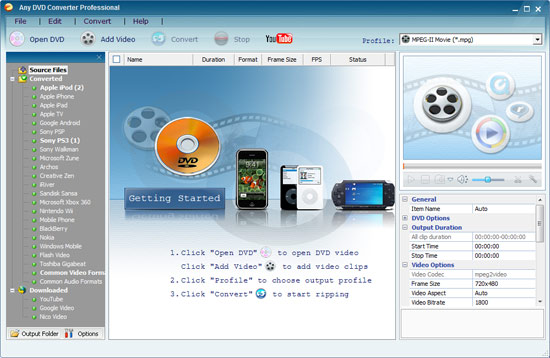 Any DVD Converter Pro 6.2.1 Crack + Keygen Free Download