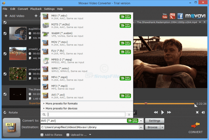 Movavi Video Converter 18.4.0 Crack & Activation Key Full