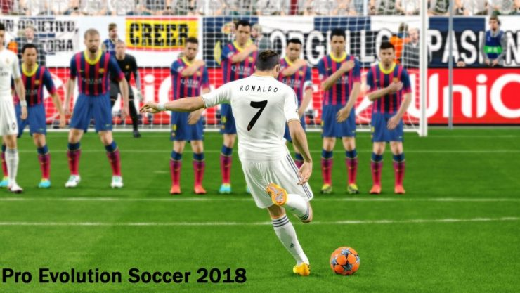 PES 2018 Crack PC Game Torrent Free Download