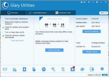 Glary Utilities PRO 5.101.0 Crack + License Key 2018 is Here!