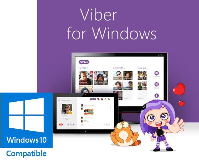 Viber 9.6.0.1 for Windows PC Latest Version Free Download