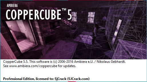 CopperCube 5.7 Crack + License Key [Mac Windows] Free Download
