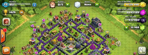 Clash of Clans Hack/Mod Unlimited v9.105.9 APK [Activated]