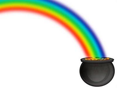 Rainbow & pot of gold 2