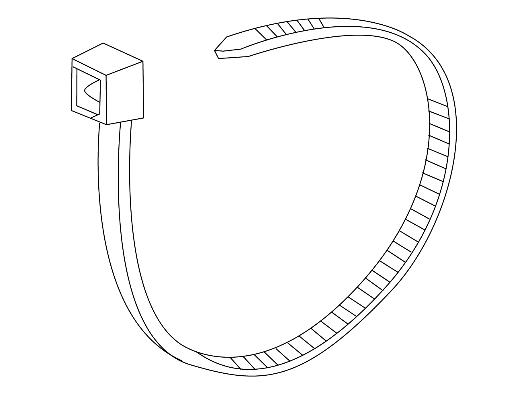 Cable Ties 100 Pk