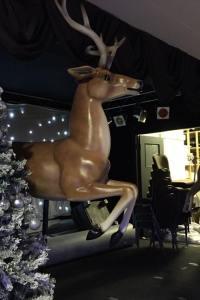 Flying Reindeer Prop