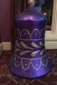 Giant Purple Bell Prop