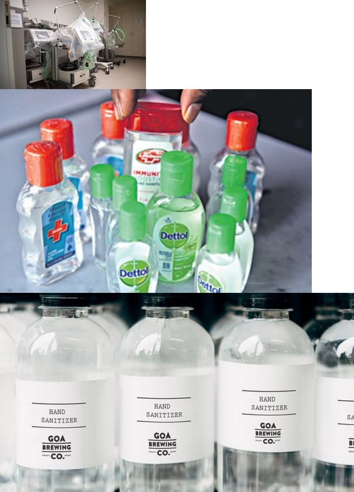Export of Ventilators & Hand Sanitizers Prohibited from India by DGFT
