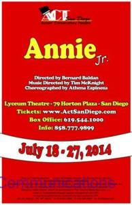ACT SD annie jr. new image 6.11.14