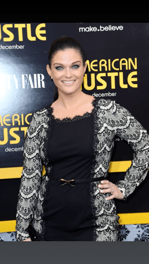 Erica at Press Event for American Hustle