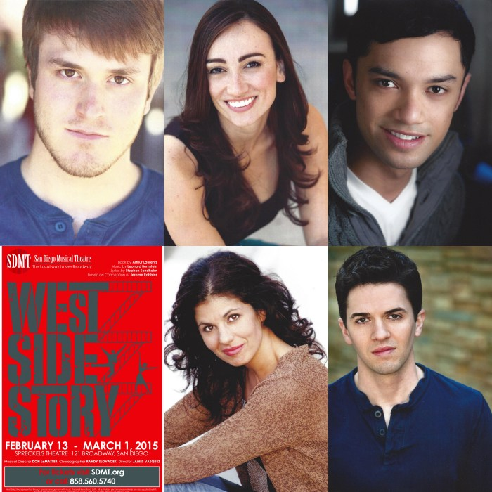 SDMT West Side Story Cast