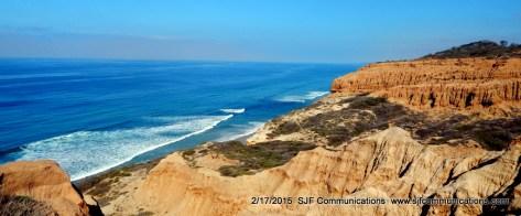 Cliffs Overlooking the Beautiful Pacific Ocean