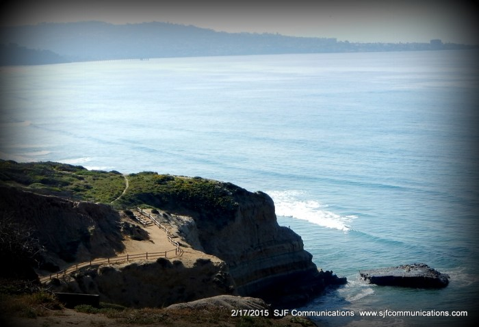 View of La Jolla at Torrey Pines State Reserve