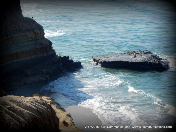 Flat Rock at Torrey Pines State Reserve