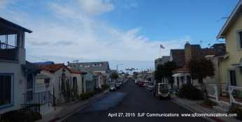 Glimpse at a local street: View from Avalon Tour Bus