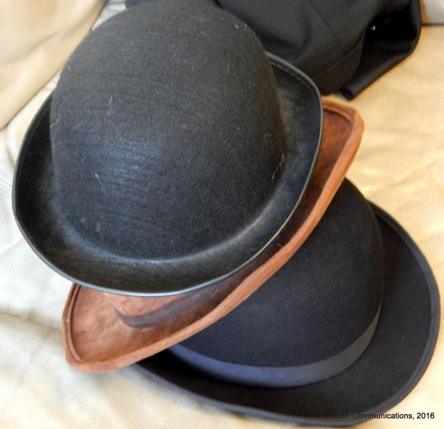 Bowler Hats; Photo by SJF Communications