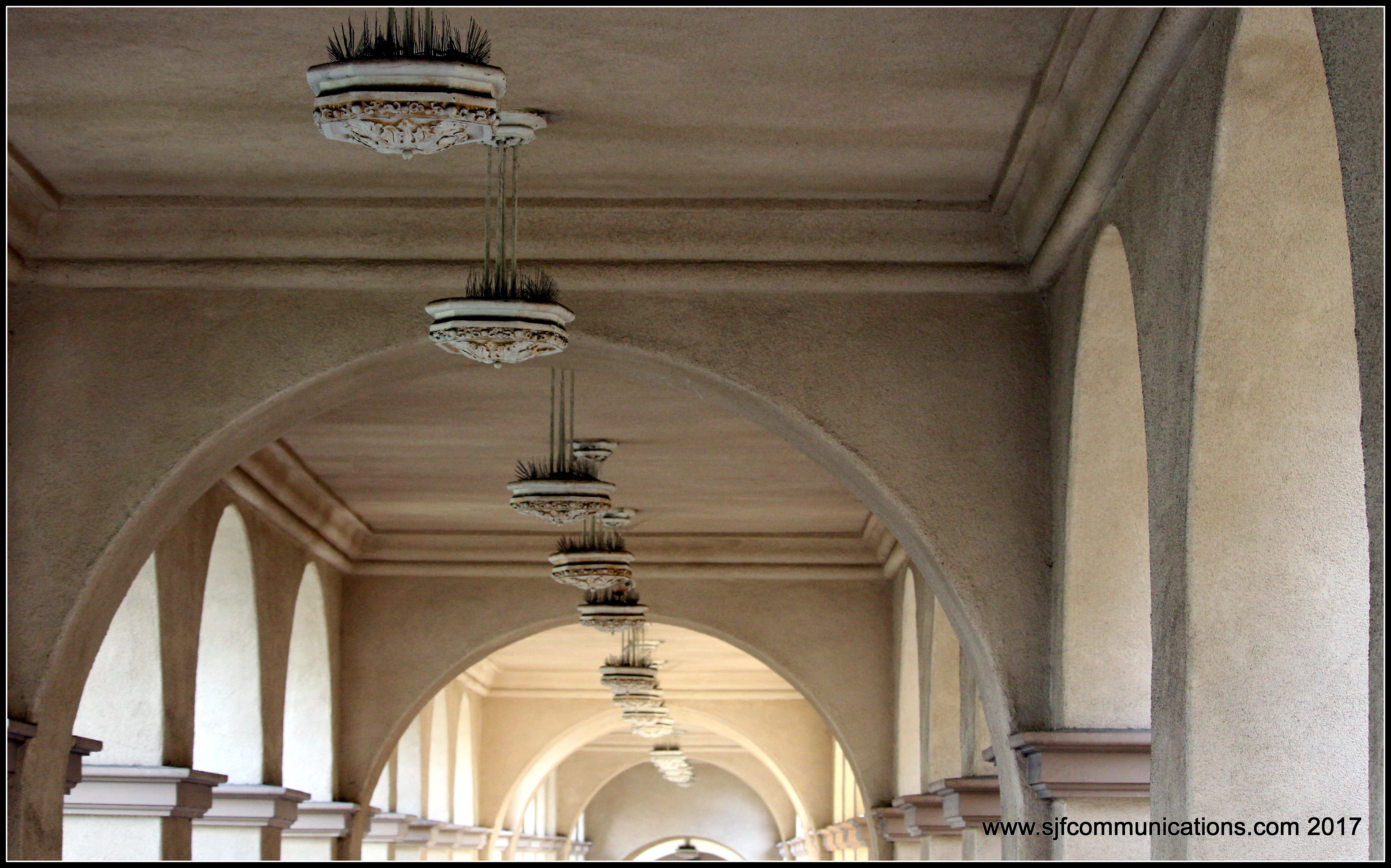 Architecture at Balboa Park, Photos by SJF Communications