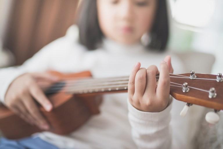 Online Ukulele lessons provided by SJG School of Music.