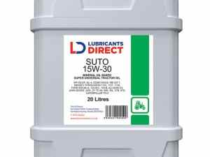 Catalogue image of Ford Fuels 20L Lubricants Direct Super Universal Tractor Oil 15W/30