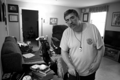 """""""The apartment that I used to live in had a bad water problem, and it was hazardous for me because of my disability. The water would make the floors very slippery. I fell a lot and couldn't get up so I would have to call the paramedics. I had to use my lifeline to call an ambulance over 75 times in the first year that I lived there. I was also worried about mold growing in the ceiling. One night the water coming through the ceiling was so bad that it saturated the tiles in the ceiling to the point where they broke and fell on the floor. If I had to get out of there in an emergency, there was no way for me to get out, or even move around in there. I managed to move here through Saint John Non Profit Housing, and it has really changed my quality of living. It has taken so much the stress away and made things much easier for me. I had a stroke 13 years ago, and after the stroke I developed a seizure disorder. I also have a rare form of leukemia, and I will never be able to work again. Having my rent subsidized by the government made it possible for me to finally live in a positive and dignified environment."""""""