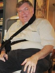 Scott Loftesness - Rotator Cuff Surgery Sling