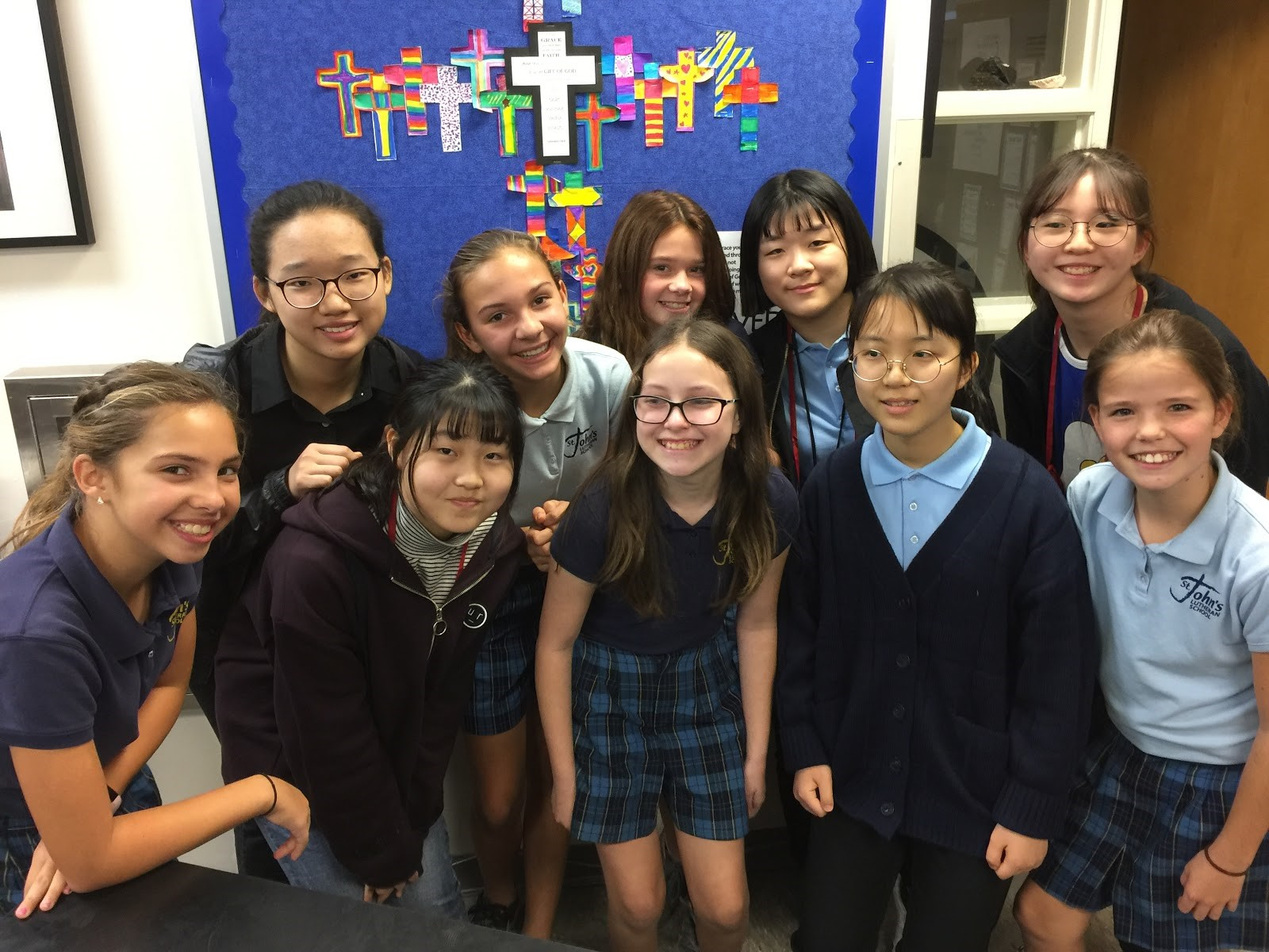 Middle School Has New Friends From Korea Reflections From