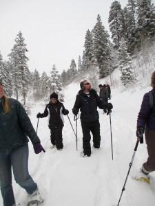 snowshoe tour