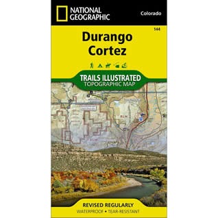 National Geographic Durango Cortez map
