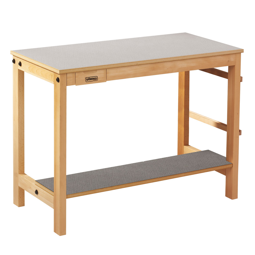 Sjöbergs Sewing maschine table, light grey Virrvarr