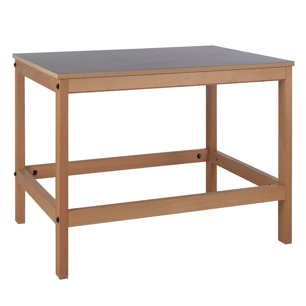 Sjöbergs Cuttingtable, with trestle, dark grey