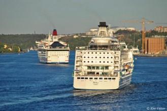 Två Ålandsbåtar