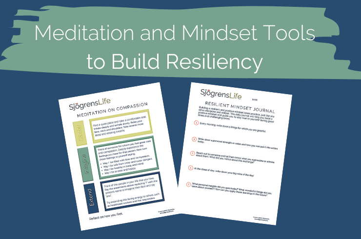 Building Resilience with Meditation and Mindset Exercises