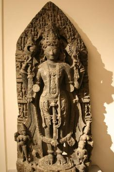 Image result for vishnu sculpture hoysala