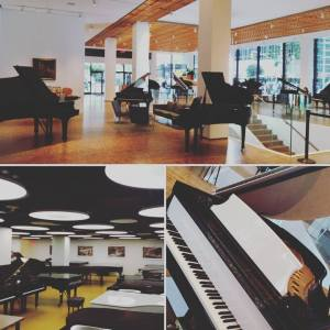 Steinway Hall montage