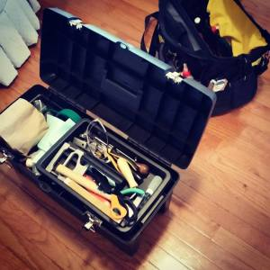Two toolboxes