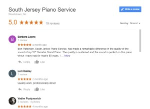 South Jersey Piano Service - Google Reviews