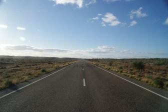 Road between Menindee and Broken Hill