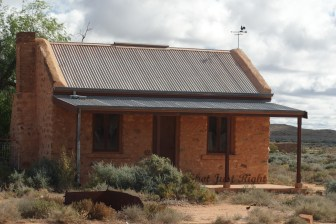Old Miners Cottage at Silverton