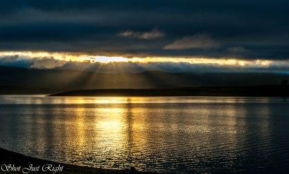 Sunrise Yesterday at Burrendong Dam