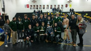 Anthracite Duals 1-6-18 1st Place
