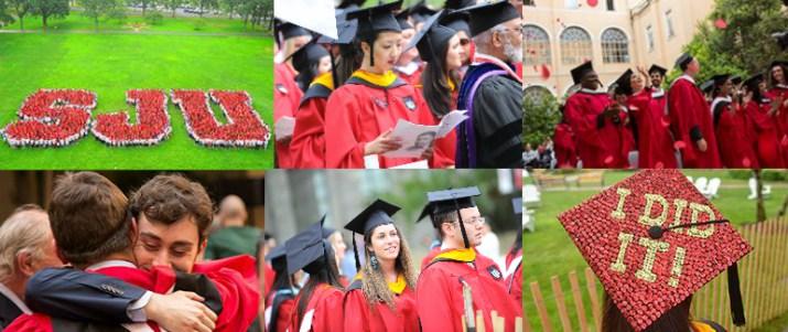 SJU Graduation Commencement photos