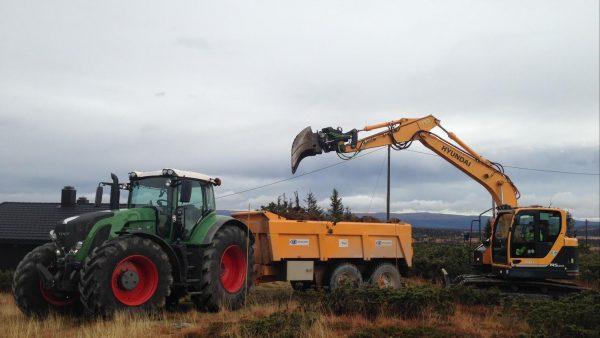 Storåsen AS står for utgraving av tomter på Sjusjøen/ringsakerfjellet