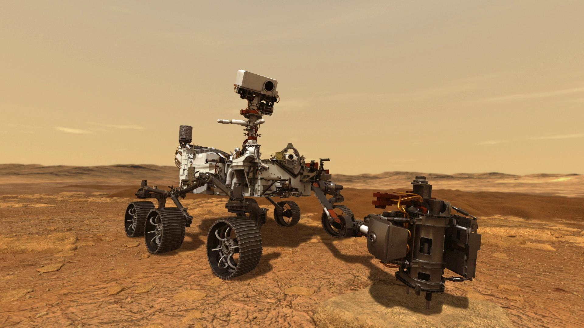 VIDEO: NASA video of Perseverance rover landing on Mars