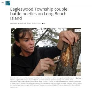 Chrisi Sheridan Press of Atlantic City Article