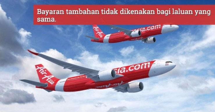 tukar tarikh AirAsia